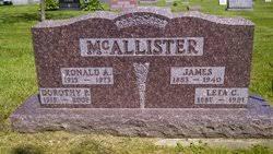 Ronald McAllister (1913-1973) - Find A Grave Memorial