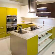 Yellow Kitchen Countertops Interior Charming Kitchen Decor Ideas With Modern White Kitchen