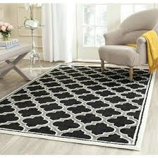 anthracite and ivory area rug a safavieh amherst collection amt412g anthracite and ivory indoor outdoor area