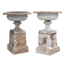 pair of english 19th century cast iron