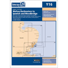 Imray Y Series Y16 Walton Backwaters To Ipswich And Woodbridge Charts And Publications