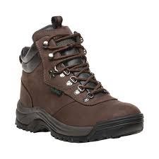 Propet Shoes Size Chart Mens Propet Cliff Walker Boot Size 85 E Brown Nubuck