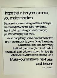 I Hope That In This Year To Come You Make Mistakes Quotes