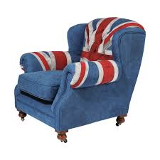 KARE Design Grandfather Union Jack Armchair