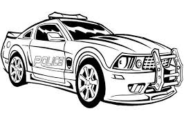Small Picture Police car coloring pages for boys ColoringStar