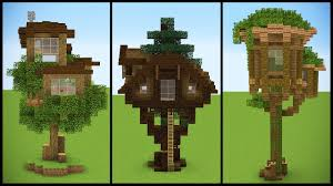 tree house designs. 3 Minecraft Starter TREEHOUSE Designs Tree House M