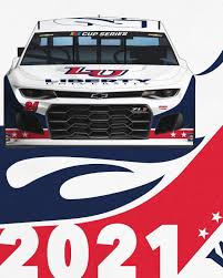 William Byron 2021 Liberty Paint Scheme ...