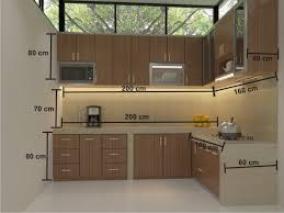 Hasil gambar untuk kitchen set minimalis bogor