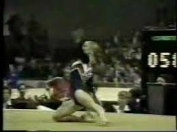 1978 World Championships gymnastics Kathy Johnson floor ex - YouTube