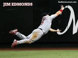 redbirdcentral com st louis cardinals wallpapers jim edmonds catch desktop background