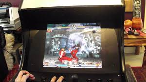 Mame Bartop Acade Machine Playing Street Fighter 3 3rd Strike ...