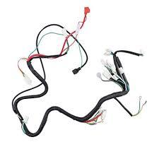 amazon com minireen gy6 125cc 150cc wire harness wiring assembly amazon com minireen gy6 125cc 150cc wire harness wiring assembly for 6 pole magneto gy6 150cc scooter moped automotive