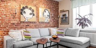 the brick living room furniture. Brick Wall Living Room Design The Furniture I