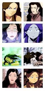 mine parallels Aang atla katara avatar the last airbender Korra legend of  korra kataang lok tlok Asami Sato Korrasami a… | Korra, Legend of korra,  Avatar characters