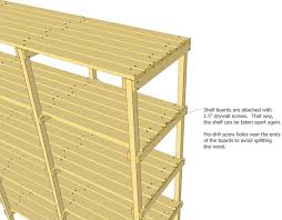 storage shelf plans. Perfect Storage The U0027laddersu0027 Of The Shelf Are Nailed And Glued Together But  Boards Screwed On So That Its Possible To Take Apart Again  For Storage Shelf Plans