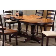 iconic furniture. iconic furniture whiskey mocha oval dining table