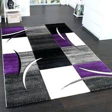 purple and black rug living room new modern design contour cut grey ruger lc9 purple and black