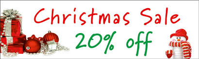 Christmas In November Sale Signs