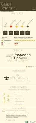 best images about infographic and visual resumes my resume created on visual ly alessia lamonaca