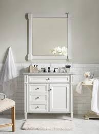 36 brittany single bathroom vanity cote white