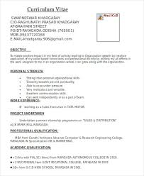 Marketing Experience Resume Marketing Resume Format Template 7 Free Word Pdf Format Download
