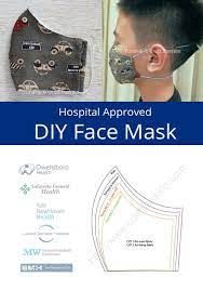 olson pleated face mask patterns