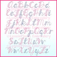 Lynnie Pinnie Embroidery Designs All Things New Sketch Fill Font Digital Embroidery Machine