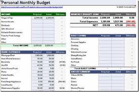 Free Household Budgeting Software 10 Free Household Budget Spreadsheets Money Saving Mom