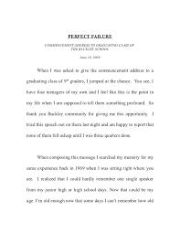 paul tudor jones failure speech perfect failure commencement address to graduating class of the buckley school