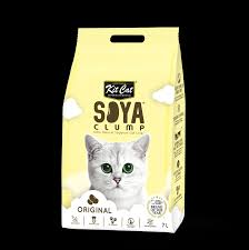<b>Kit Cat Soybean</b> Litter Soya Clump Original 7L - Kit Cat International ...