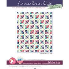 Summer Breeze Downloadable PDF Quilt Pattern<BR>It's Sew Emma ... & Summer Breeze Downloadable PDF Quilt Pattern<BR>It's Sew Emma Adamdwight.com