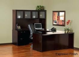 monarch shaped home office desk. U Shaped Home Office Desk Mayline Mira Series Shape W Glass Hutch Monarch Specialties I 7 .