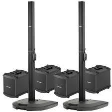 bose pa. bose dual l1 model i quad bass pa system package pa