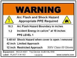 Nfpa 70e Ppe Chart 2017 Nfpa 70e Arc Flash Shock Sotaris Workplace