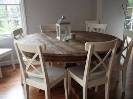6 person round dining table black and chairs room cool captivating kitchen sets for ikea