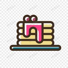 Small Cartoon Birthday Cake Design Vector Icon Png Imagepicture