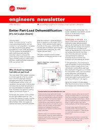 Chilled Water Piping Design Chart Better Part Load Dehumidification Its Not A Pipe Dream