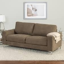 chenille fabric sofa. Beautiful Sofa CorLiving Cory Brown Chenille Fabric Sofa Throughout