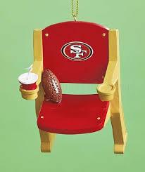 San Francisco 49ers Nfl Stadium Seat Christmas Tree Ornament