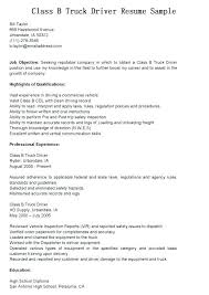 Truck Driver Resume Sample Awesome Truck Driver Resume 911