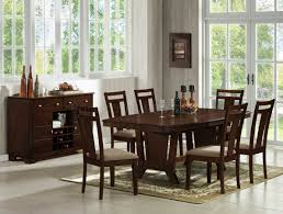 Solid Cherry Dining Room Table Dark Cherry Modern Dining Table W Optional Side Chairs Server