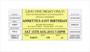 Concert Invite Template 37 Concert Ticket Templates Psd Vector Eps Free