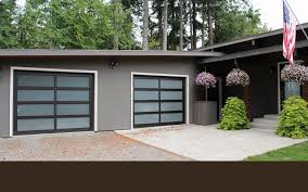 Exterior Carriage Style Garage Doors Cost Modern On Exterior In