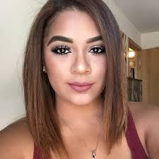 simple glam makeup look