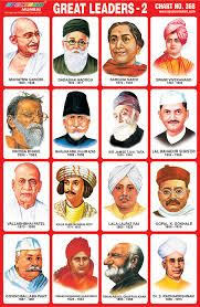 Telangana Freedom Fighters Chart Indian Freedom Fighters Picture Chart A4 Size Free