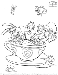 Download for free disney world coloring book #566772, download othes disney world rides coloring pages for free. Alice In Wonderland Coloring Picture Alice In Wonderland Drawings Alice In Wonderland Disney Coloring Pages