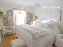 white and white furniture. sunday showcase from make it pretty monday shabby chic master bedroomvintage white and furniture n