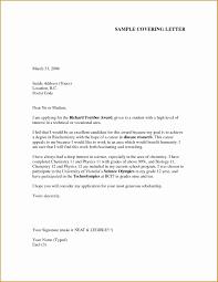 Sample Cover Letter For Job Resume Fresh Cover Letter Template Ideas