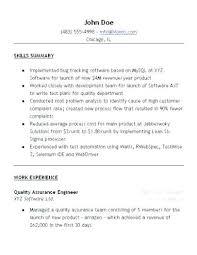 Quality Control Resume Sample Thrifdecorblog Com