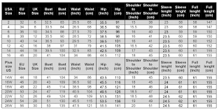 Womens To Mens Size Chart Size Chart House Of Dassa